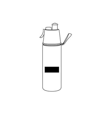 Botella Tapa Plastica Rosca