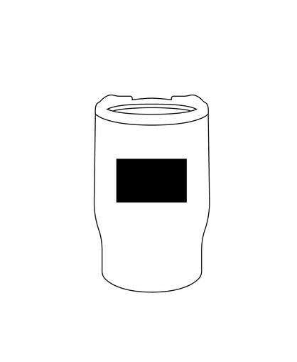 Mug doble pared de 350 ml-LOGO