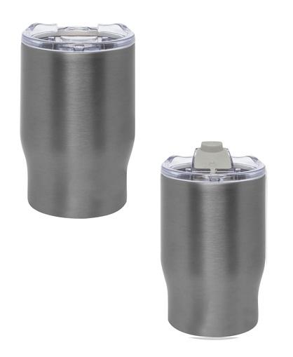 Mug doble pared de 350 ml-gris