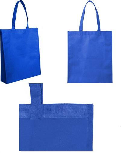 bolsa reticlable 40 x 30 x 10 cm-azul