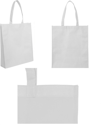 bolsa reticlable 40 x 30 x 10 cm-blanco