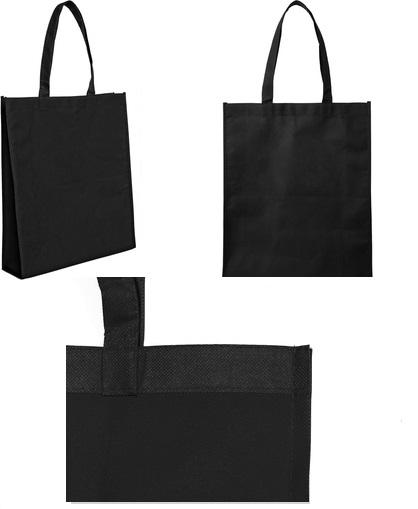 bolsa reticlable 40 x 30 x 10 cm-negro