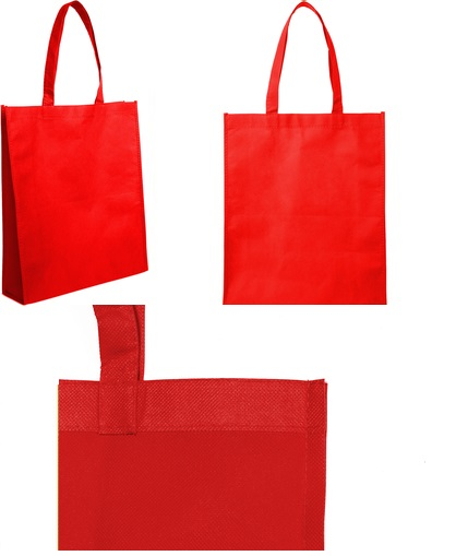 bolsa reticlable 40 x 30 x 10 cm-rojo