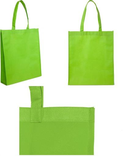 bolsa reticlable 40 x 30 x 10 cm-verde