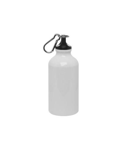 botella metalica -blanca