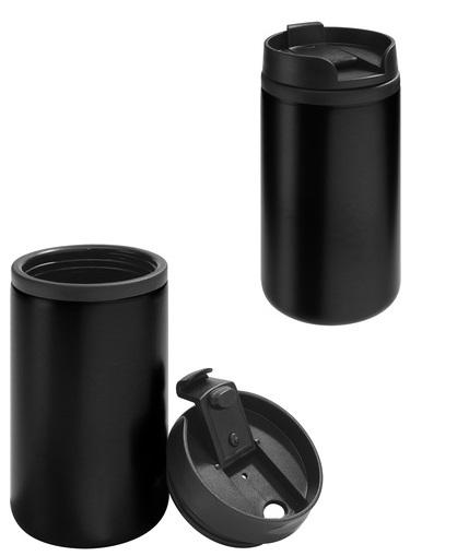 mug pequeño 250 cc negro