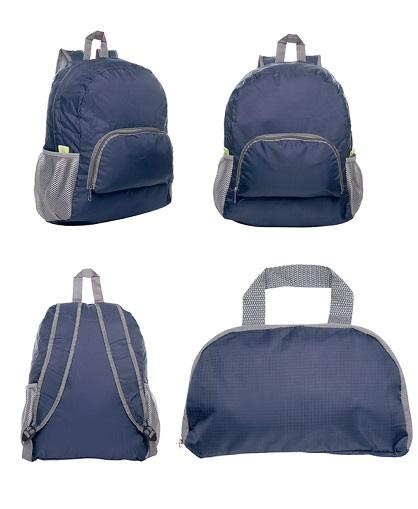 mochila-plegable-azul
