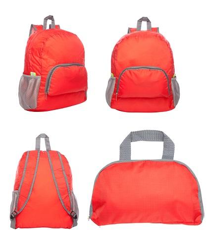 mochila-plegable-rojo