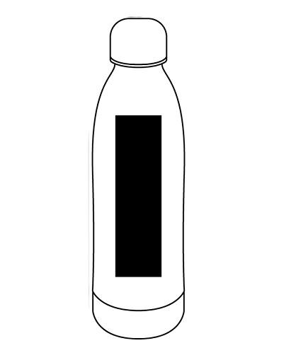 BOTELLA PLASTICA 650 LOGO