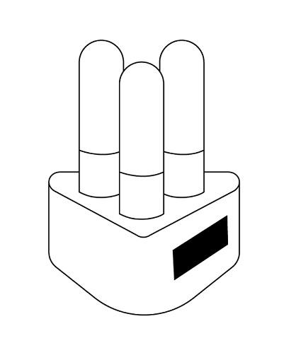 RESALTADOR CON BASE TRIANGULAR-logo