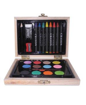 set para colorear abierto