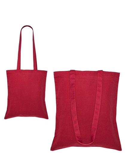 Bolsa 100% Algodón-rojo