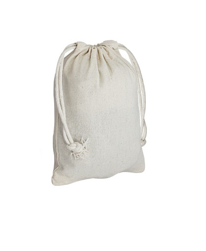 bolsa Saco 100% Algodón 120g-lado