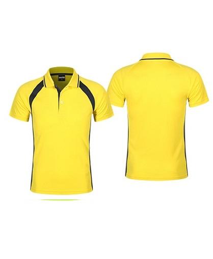 Polera Deportiva Hombre Roger amarillo