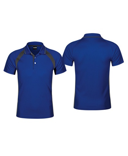 Polera Deportiva Hombre Roger azul