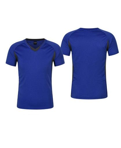 Polera Deportiva Hombre Zinedine azul