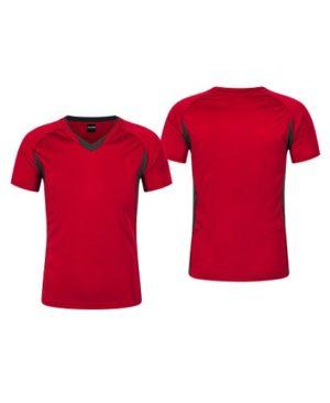 Polera Deportiva Hombre Zinedine rojo