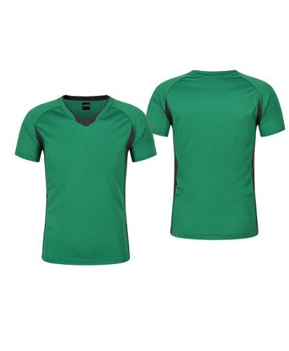 Polera Deportiva Hombre Zinedine verde