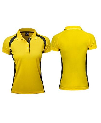 Polera Deportiva Mujer Steffi amarillo