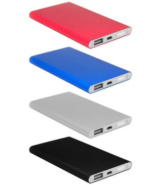POWER BANK 4000 mah -COLORES