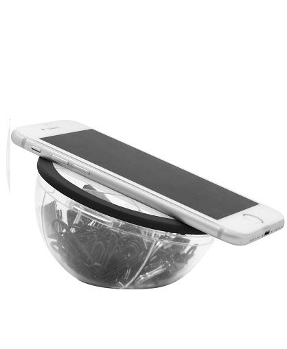Set con clips plásticos color negro y sujeta papeles-laod-uso