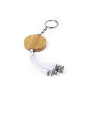 ADAPTADOR USB Llavero BAMBOO lado