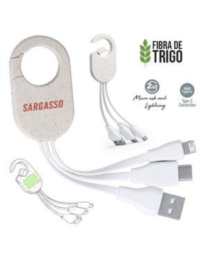 ADAPTADOR USB Llavero MOSQUETON