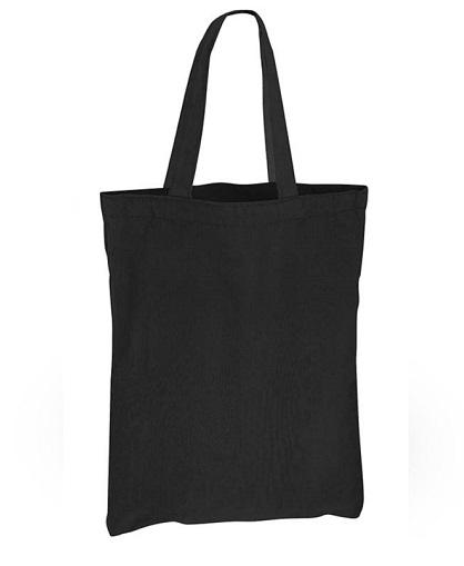 Bolsa Algodon colores 23 x 30_negro