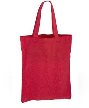 Bolsa Algodon colores 23 x 30_rojo
