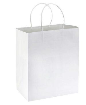 Bolsa de Papel 25 x 30 x 17 cm BLANCO