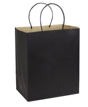 Bolsa de Papel 33 x 40 x 15 cm negro