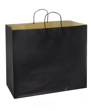 Bolsa de Papel 45 x 45 x 17 cm negro