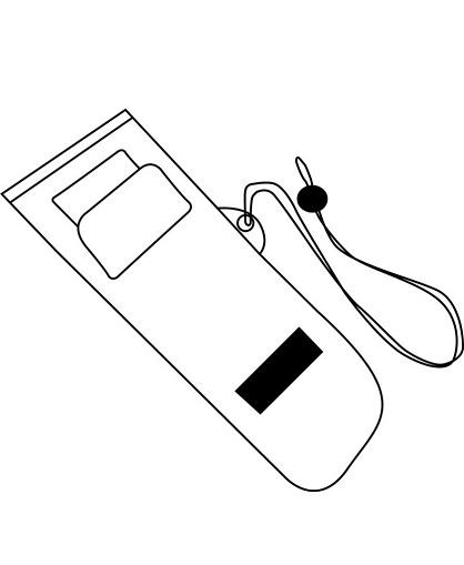 Bolsa impermeable para celular con logo