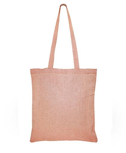 Bolsa de Algodón Reciclado -naranjo