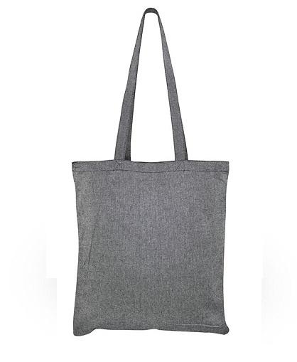 Bolsa de Algodón Reciclado -negro