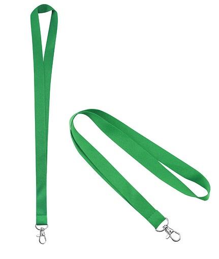 Lanyard Porta-Credencial 20 mm verde