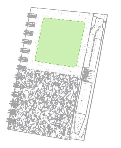 Libreta de corcho y carton con lapiz-Libreta_logo – copia