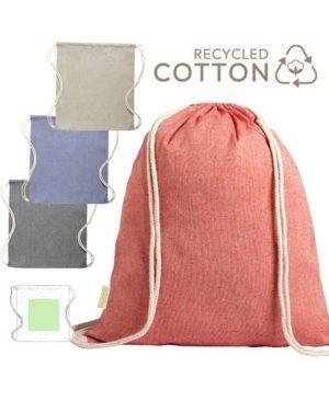 Mochila Konim algodón reciclado colores