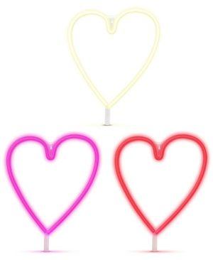 Neon Corazon Colores