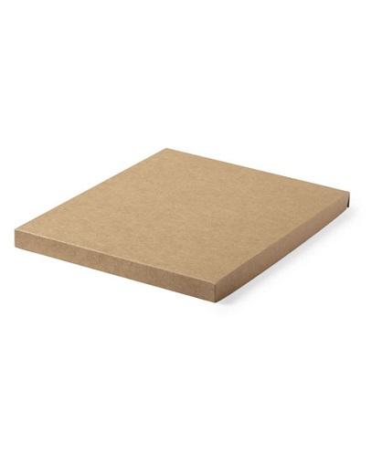 Set bloc de notas Minsor de corcho natural tapa
