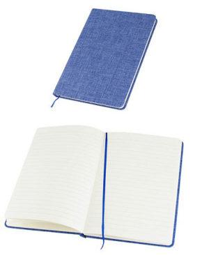 Cuaderno-de-Tela-azul