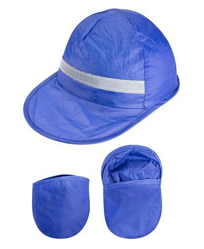 Gorro-Promocional-Plegable-Azul