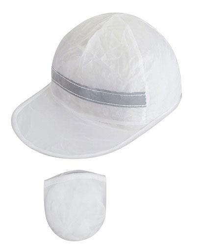 Gorro-Promocional-Plegable-Blanco
