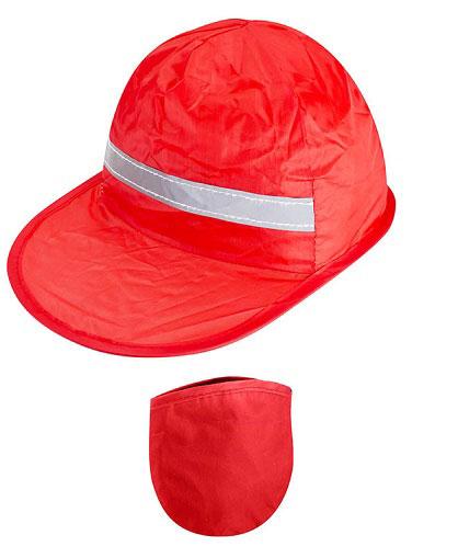 Gorro-Promocional-Plegable-Rojo
