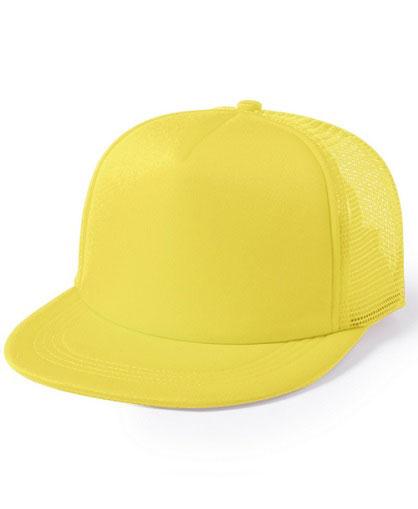 Jockey-con-visera-plana-amarillo