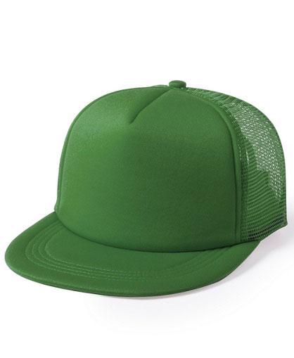 Jockey-con-visera-plana-verde
