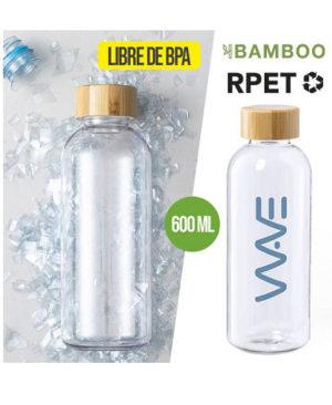 Botella-RPET-tapa-bambu
