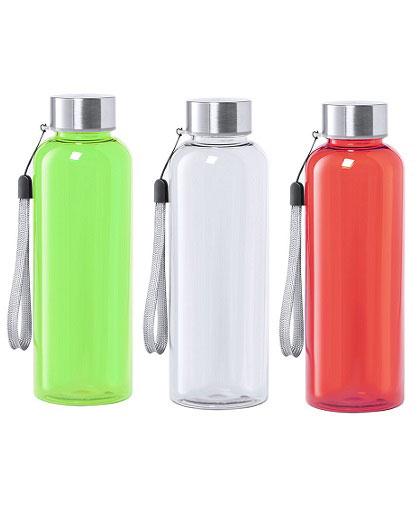 Botella–tritán-transparente-verde-_-blanco_-rojo