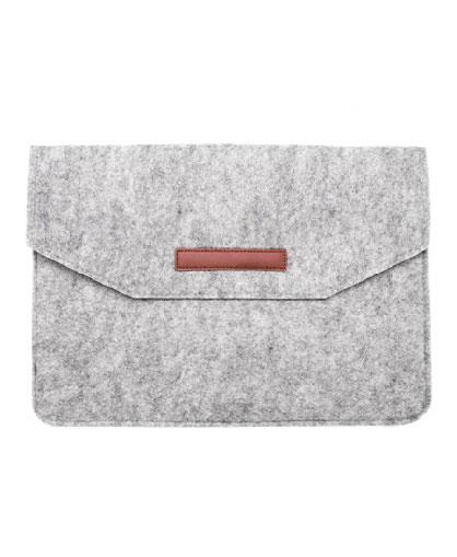 Porta-Documentos-de-Fieltro-frente-gris
